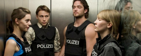 Marek Gorsky (2. v. l.) mit seinen Kollegen / Credit: filmstarts.de